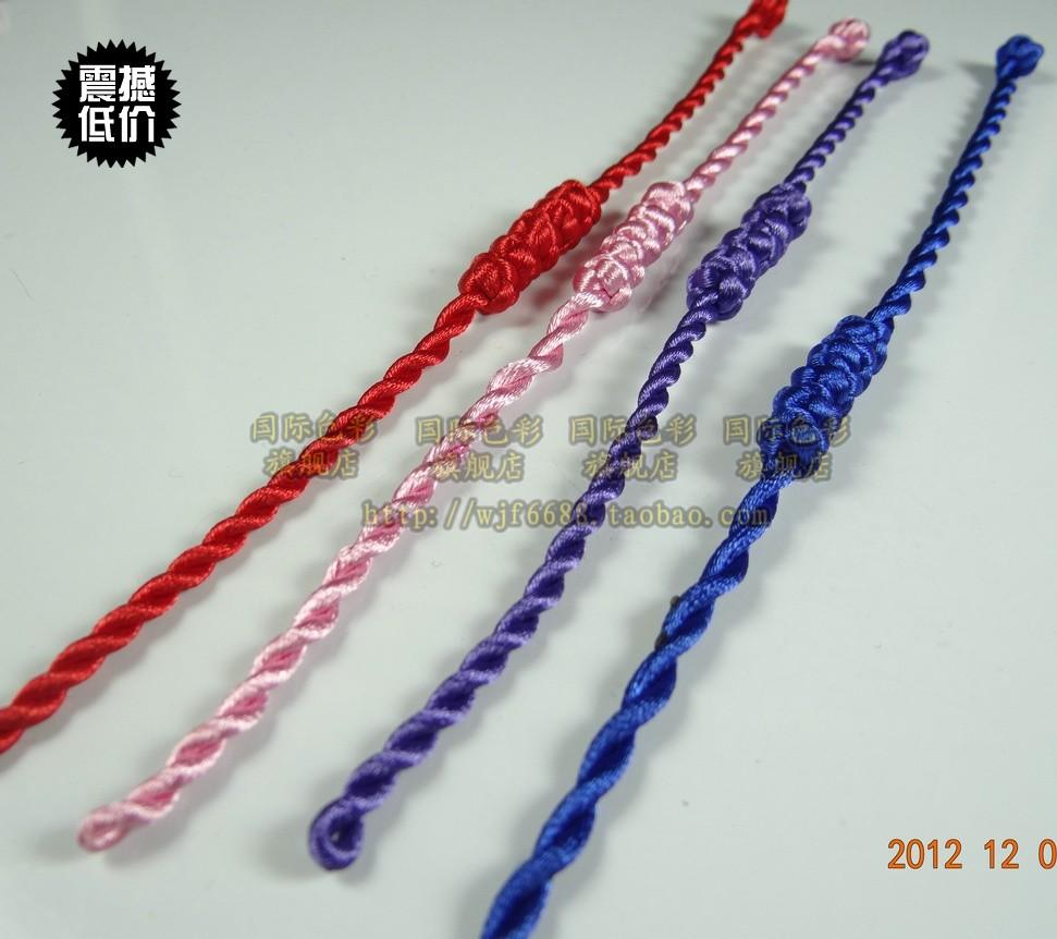 用绳子编手链的方法,怎样用绳子编手链,绳子编手链 ...