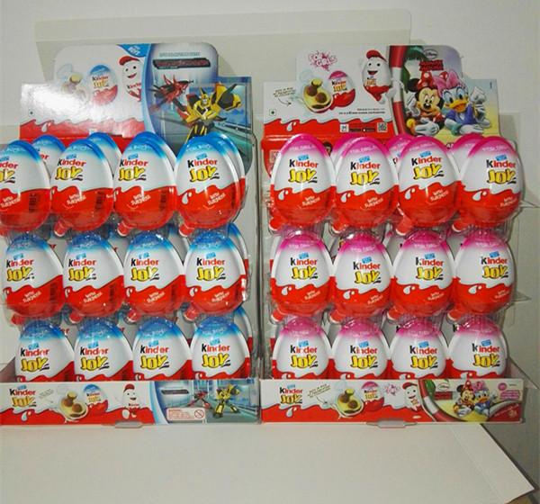 正品费列罗健达奇趣蛋新奇玩具儿童巧克力整箱24个英文版包邮