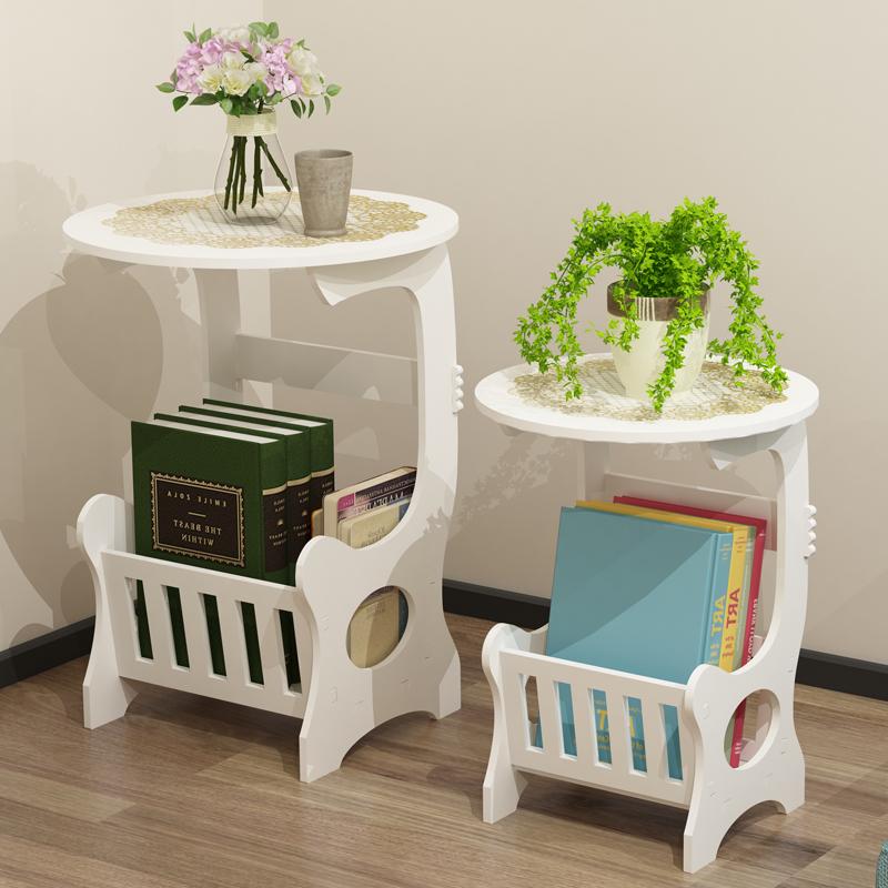 茶几小圆桌现代简约迷你杂志桌子欧式客厅休闲卧室床头边几小户型