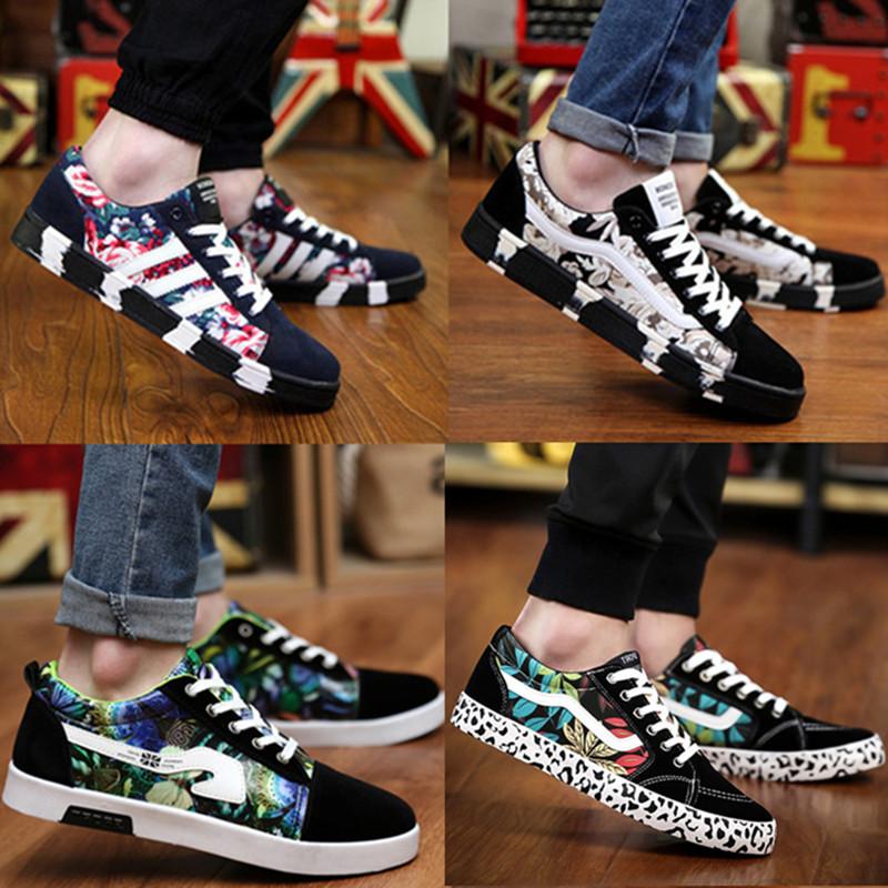 帆布鞋春季学生男士休闲鞋夏男生男式布鞋男款板鞋潮流韩版男鞋子