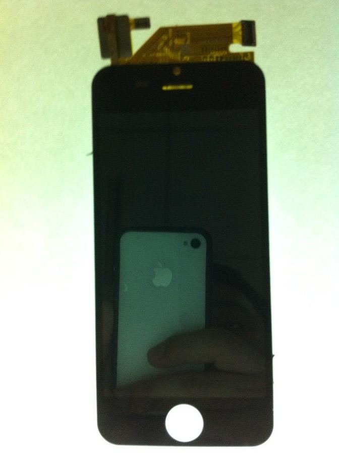 仿苹果5代 显示屏 JM04858BFS 触摸屏FPC-C040T1650AA0 一体总成