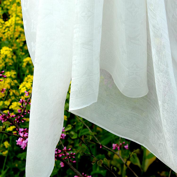 ☆ L*大牌尾单也有白菜 百年一遇超仙双层真丝提花丝绸服装面布料