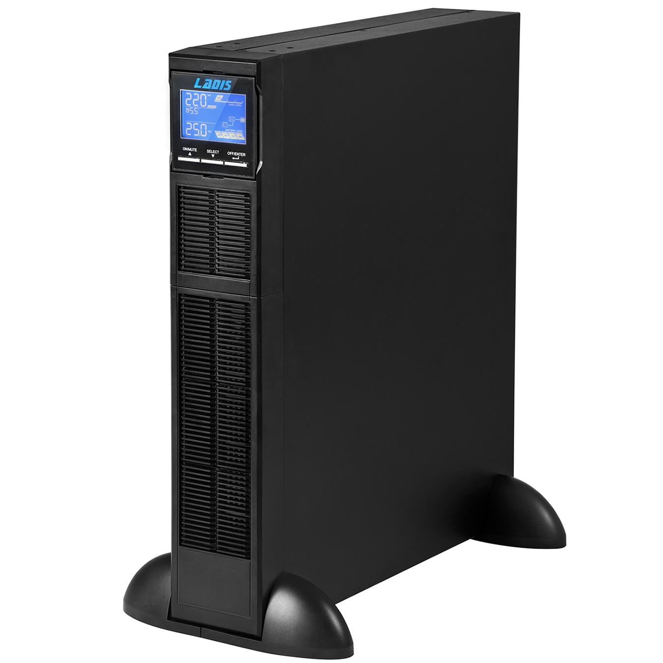 雷迪司GR2KL机架式UPS不间断电源2KVA 1600W长延时主机2U高度72V