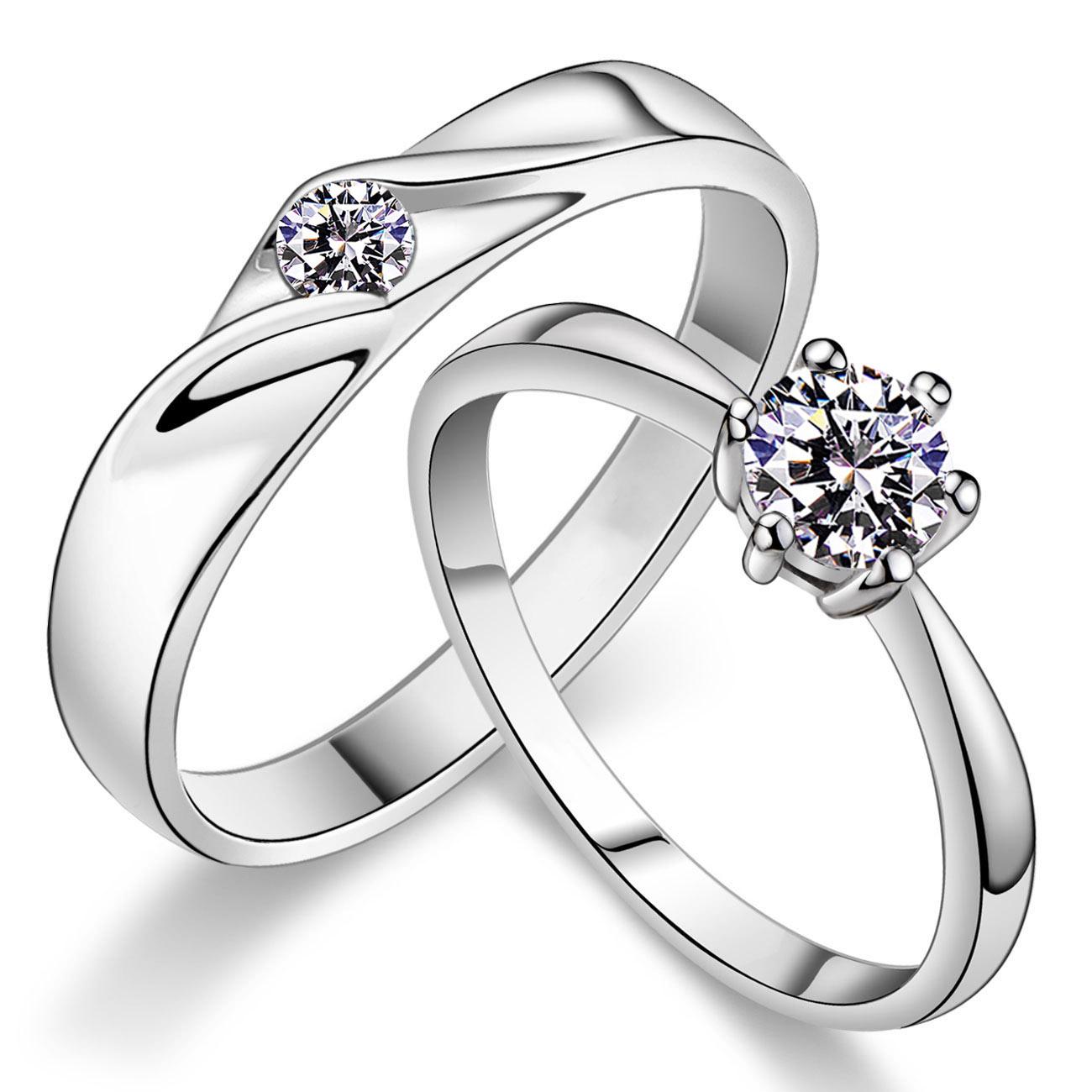 周生生男士铂金戒指_周生生 情侣对戒 PT950铂金 钻石戒指 男女士结婚戒子 钻戒带证书