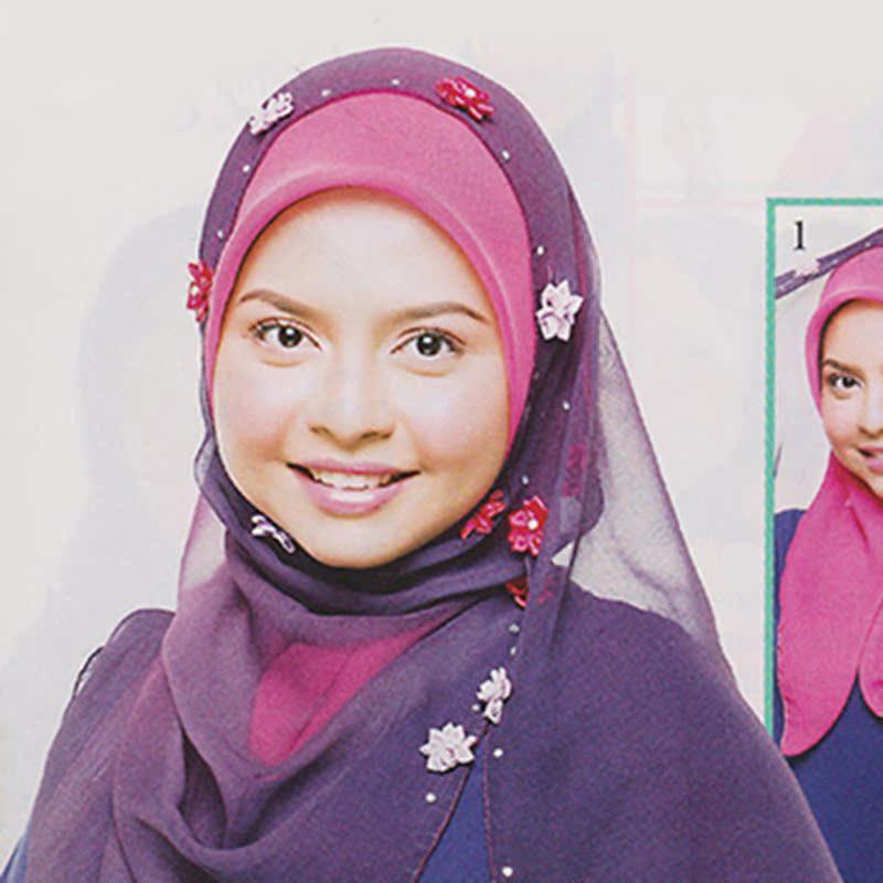 回族头巾,头巾戴法,戴头巾的回族女孩(第27页)_点力 ...