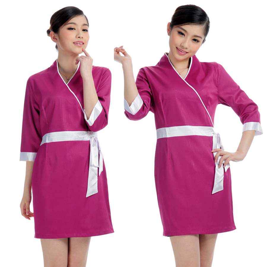 Massage therapy uniform for Uniform spa therapist