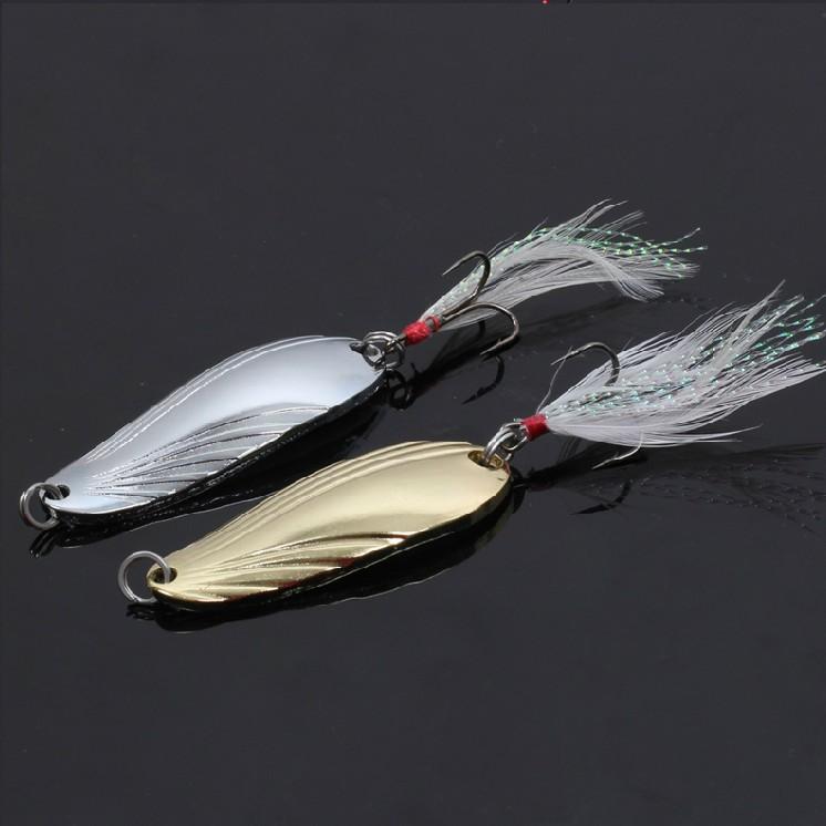 特价贝壳勺型路亚亮片5-13克专攻翘嘴马口白条鲶鱼 铁板假饵拟饵