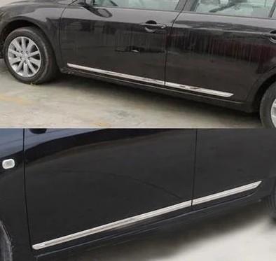 比亚迪速锐门边条 F3 G3 L3车身饰条 改装门下不锈钢防擦防撞亮条