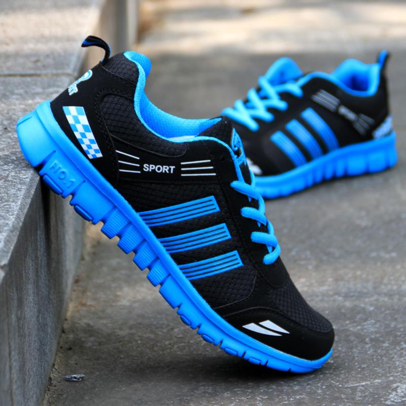 夏季韩版运动休闲男鞋低帮跑步鞋网布鞋潮流男板鞋轻便透气男鞋子