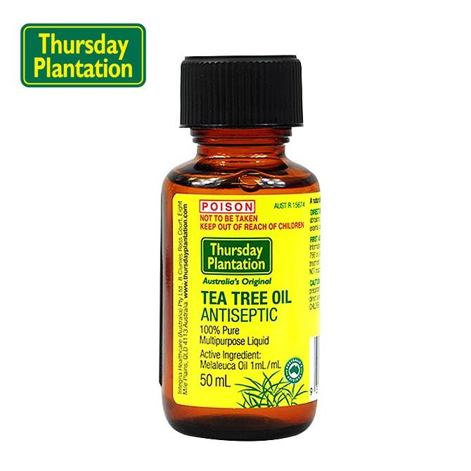 现货澳洲Thursday Plantation星期四农庄茶树精油50ML 抗痘消炎