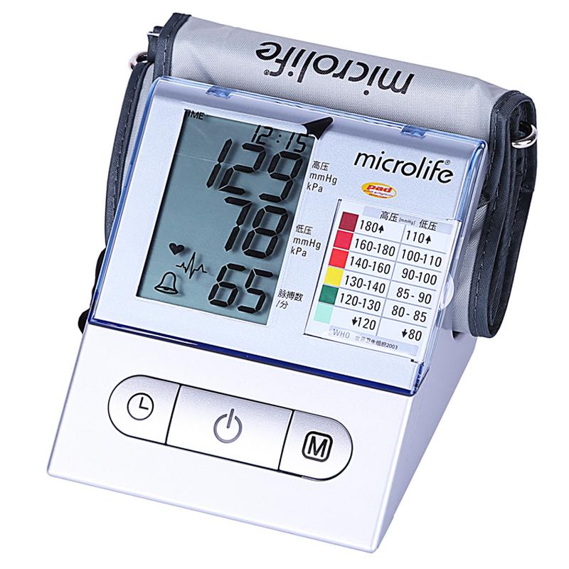 瑞士迈克大夫血压计BP A100家用上臂式全自动心律不齐电子血压仪