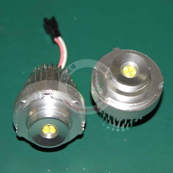 E60 E61 LCI 20W 宝马5系LED前大灯天使眼正版美国科瑞CREE芯片