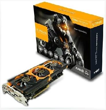 Sapphire/蓝宝石 R9 290X 4G DDR5 白金版 OC 三风扇 游戏卡 包邮