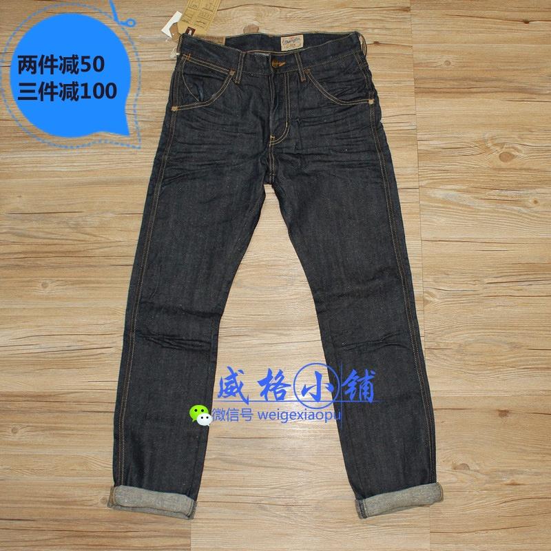 现货 Wrangler 威格专柜代购 中腰小脚原色牛仔裤 WMC331621899
