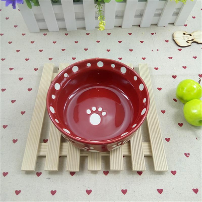 外贸陶瓷宠物碗陶瓷狗盆狗碗猫盆猫碗水碗粮碗可爱宠物用品