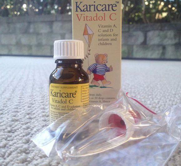 新西兰直邮Karicare VC 儿童维他命VC滴剂10ml抗感冒增强免疫