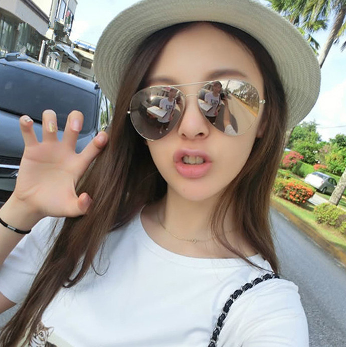 太阳镜女2015新款偏光镜明星潮圆脸优雅复古韩版眼镜男士情侣墨镜