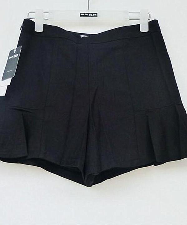 潮流前线正品2015夏装新款S5IB13202百搭女裙裤女式短裤原价115