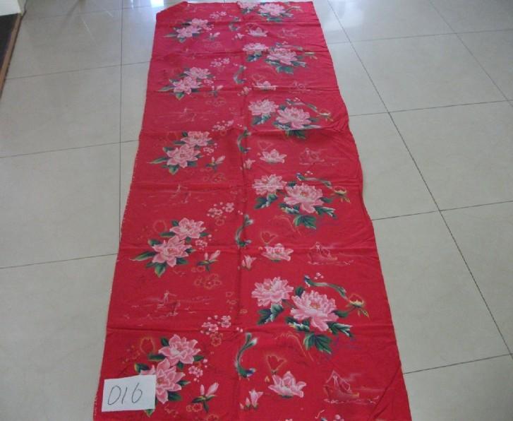 老款红绸缎被面图片_正品婚庆四件套龙凤百子图丝绸软缎绸缎被面