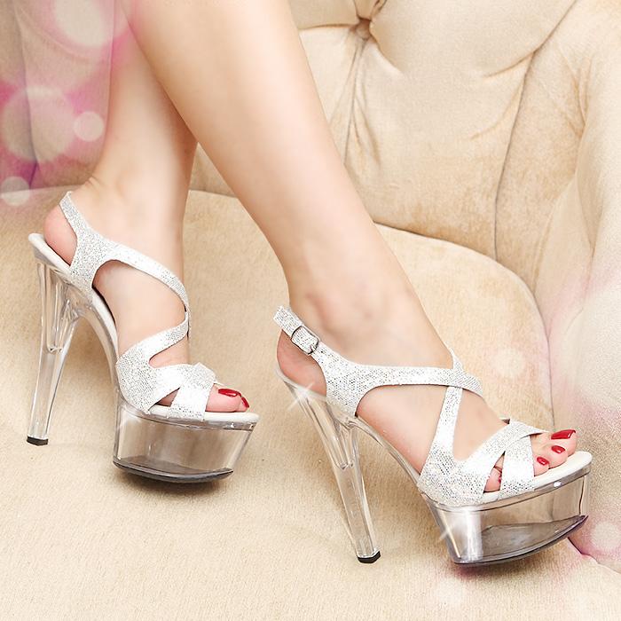 高跟鞋夏季女凉鞋 女凉鞋高跟鞋细跟