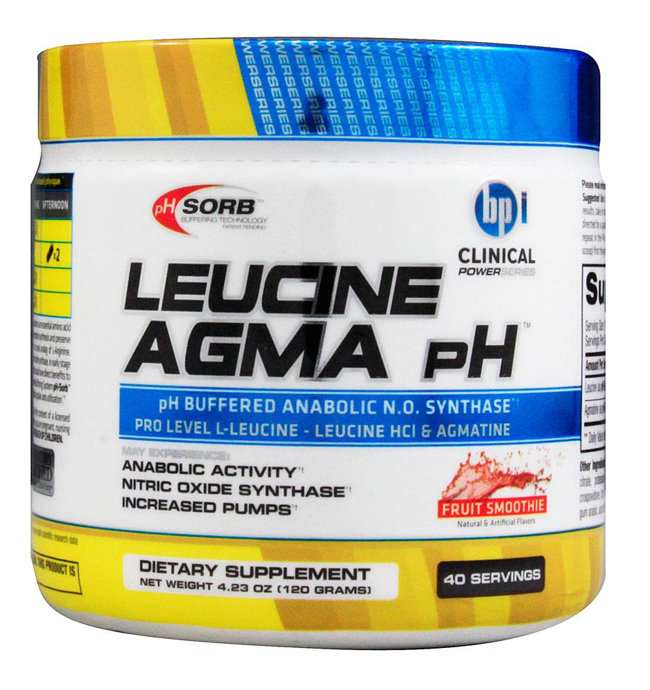 美国直购 BPI Sports Leucine Agma pH 增强版亮氨酸120克促合成