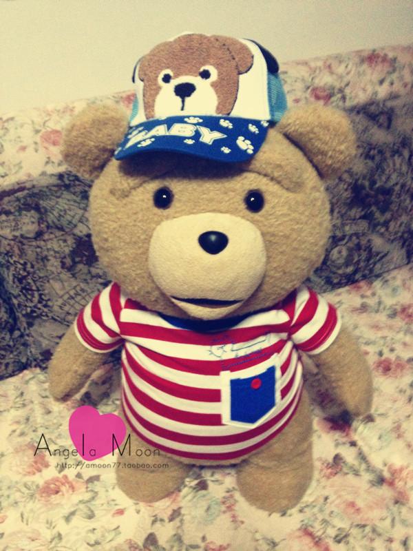 美国电影泰迪熊ted_美国电影泰迪熊ted萌贱熊正版会说话的毛绒玩