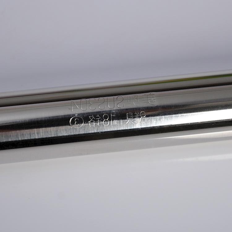打孔直杆型304不锈钢浴帘杆加厚卫生间浴帘挂杆阳台晾衣杆窗帘杆