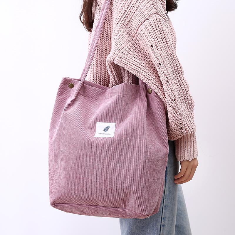 购物袋帆布大号单肩帆布包学生手提袋韩版大容量小清新帆布袋子女
