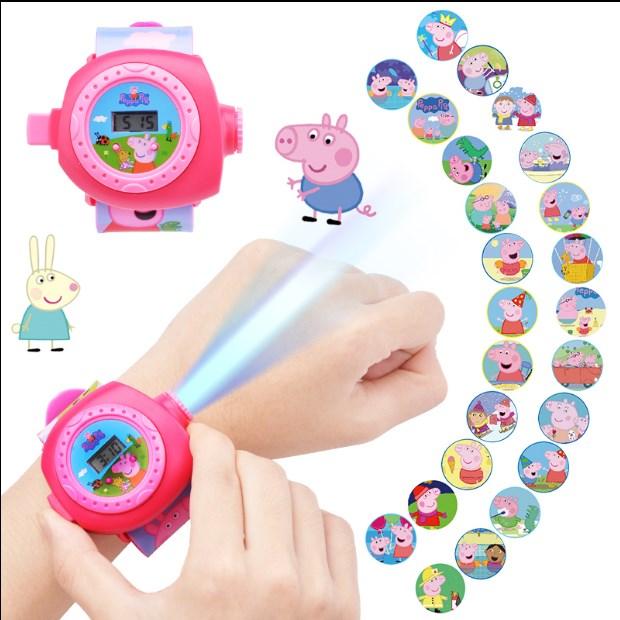 小猪佩奇手表带遥控车 粉红