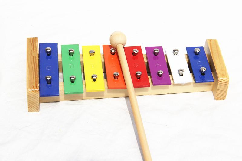 儿童打击乐器 奥尔夫乐器 早教益智玩具 8音铝板琴举报中心