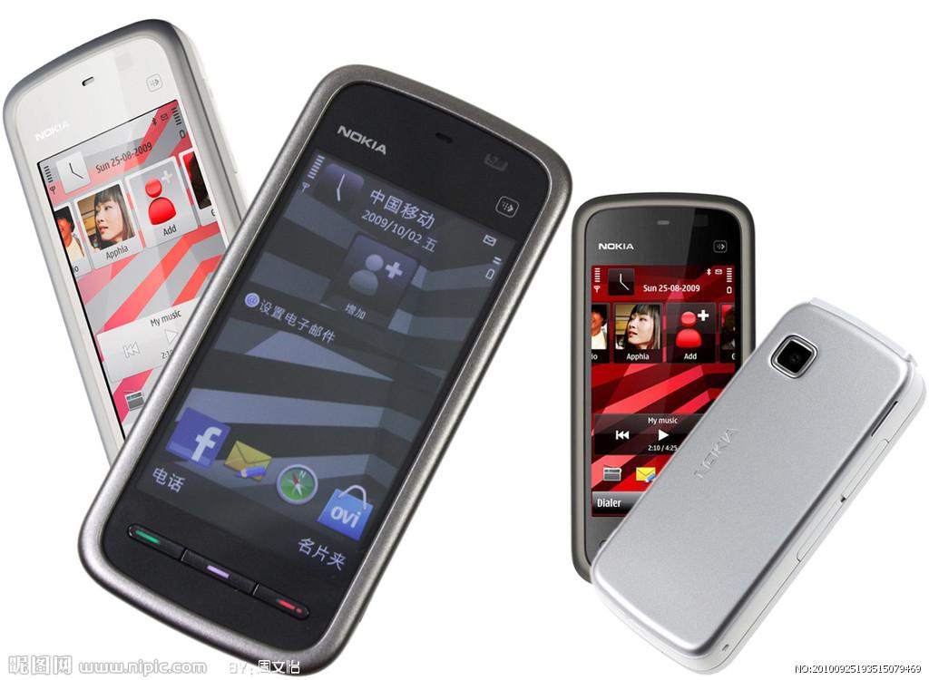 赛博宇华智能手机i6_诺基亚5230/5233智能时尚3G直板触屏大字体手机Nokia/诺基亚 208