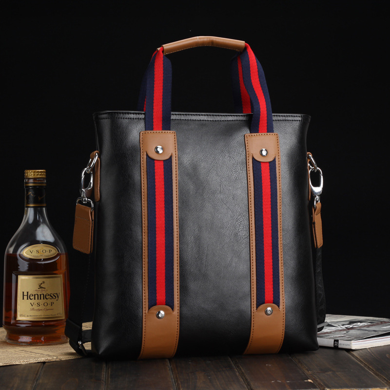 热风袋鼠保罗男士包包ck男包真皮商务手提包包背包真皮男包包