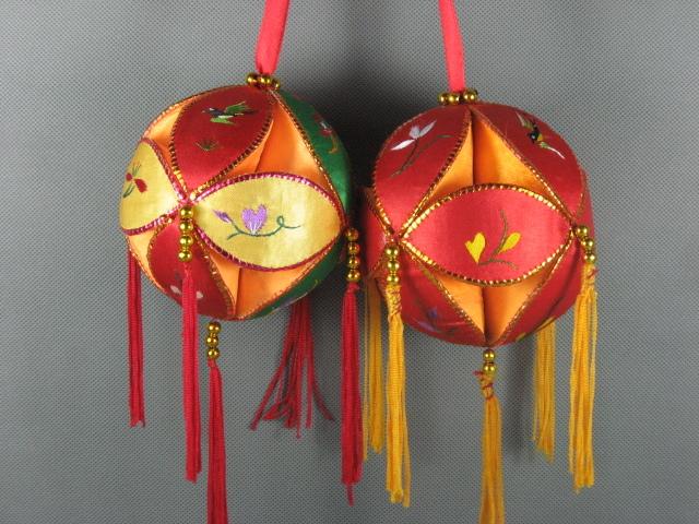 包邮桂林壮族绣球 广西绣球 手工艺品 表演道具 舞蹈用品 表演8cm图片