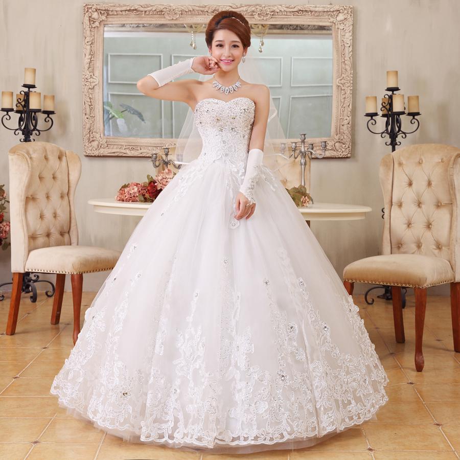 结婚礼服新款2014女