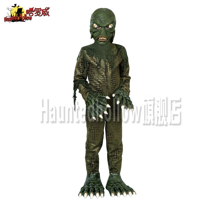 万圣节/鬼节/恐怖服装/搞怪整人儿童节/沼泽里的怪物装扮 A2468