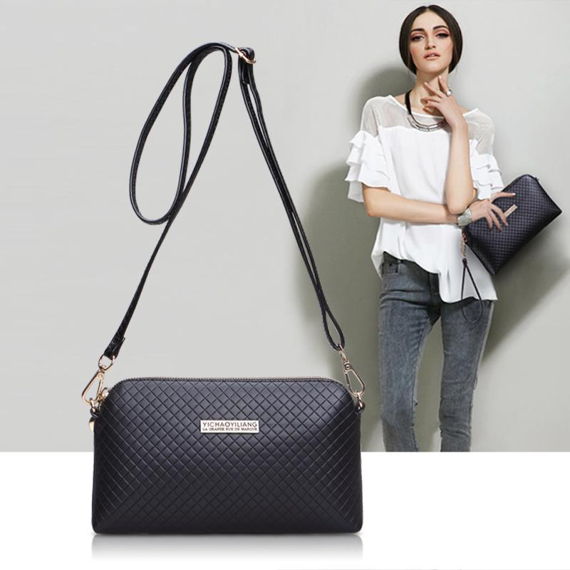 包包夏款女新款2015欧美时尚菱格手包单肩包女包小方包单肩斜挎包