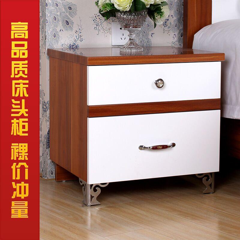 新款特价包邮宜家正品烤漆床头柜现代时尚简约床边储物柜热卖精品