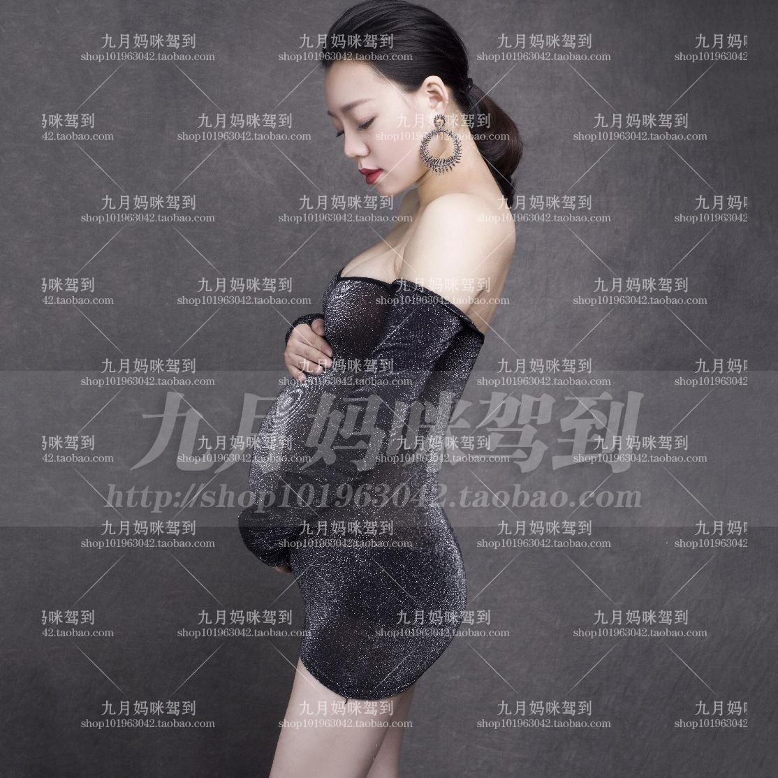 61 出租出售孕妇拍照服装摄影写真服饰准妈妈影楼孕照衣服大肚照