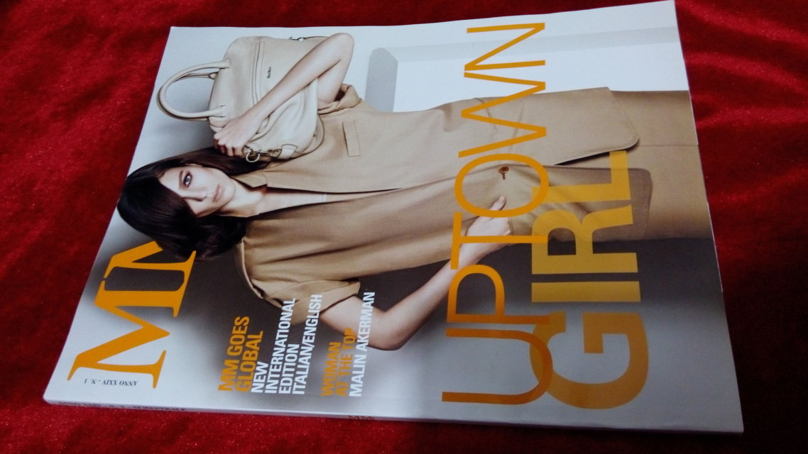 意大利女装 MY MaxMara Fashion guide 2013 春夏 MM magazine