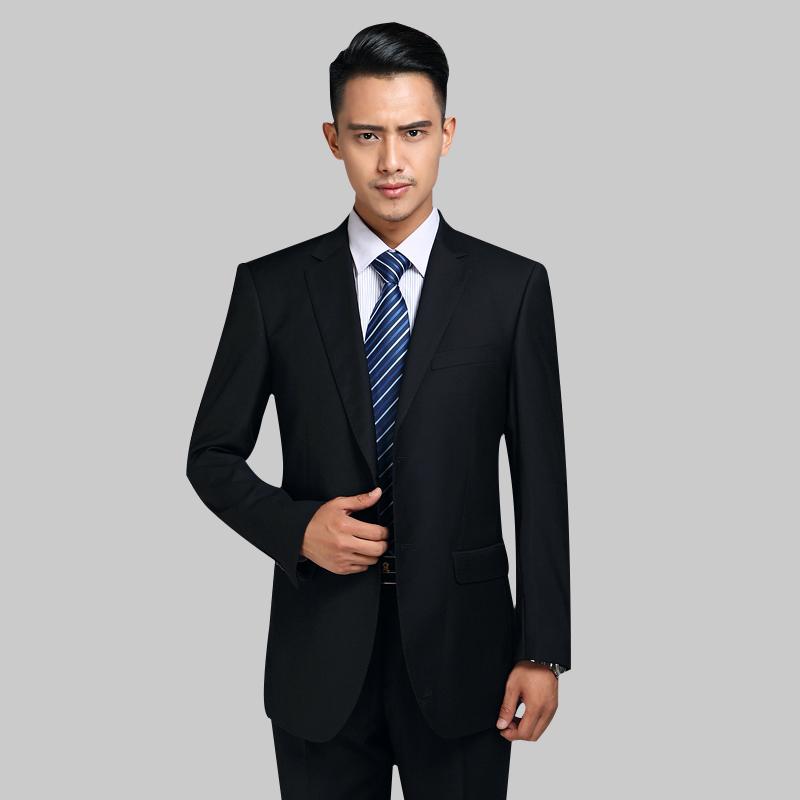 专柜正品杉杉男士西服套装修身结婚西装免烫商务正装面试西服男