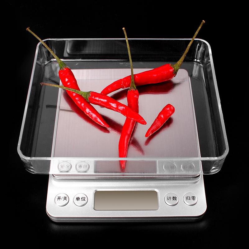 精准迷你珠宝秤家用电子称0.01g厨房秤克称食物称烘焙秤0.1g天平