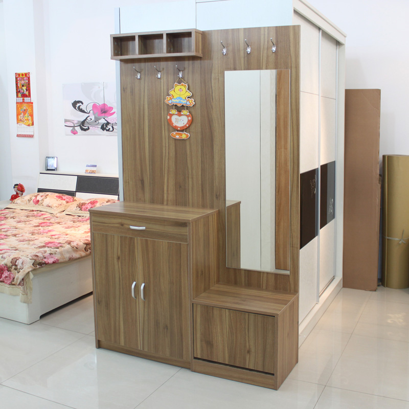 鞋柜和挂衣架效果图,挂衣架 和鞋柜一体,鞋柜挂衣架一体效果图,高清图片