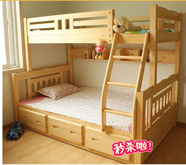 儿童双人床上下铺_儿童卧室上下铺_儿童房组合上下铺_水手儿童上下铺 - 韶大人素材网