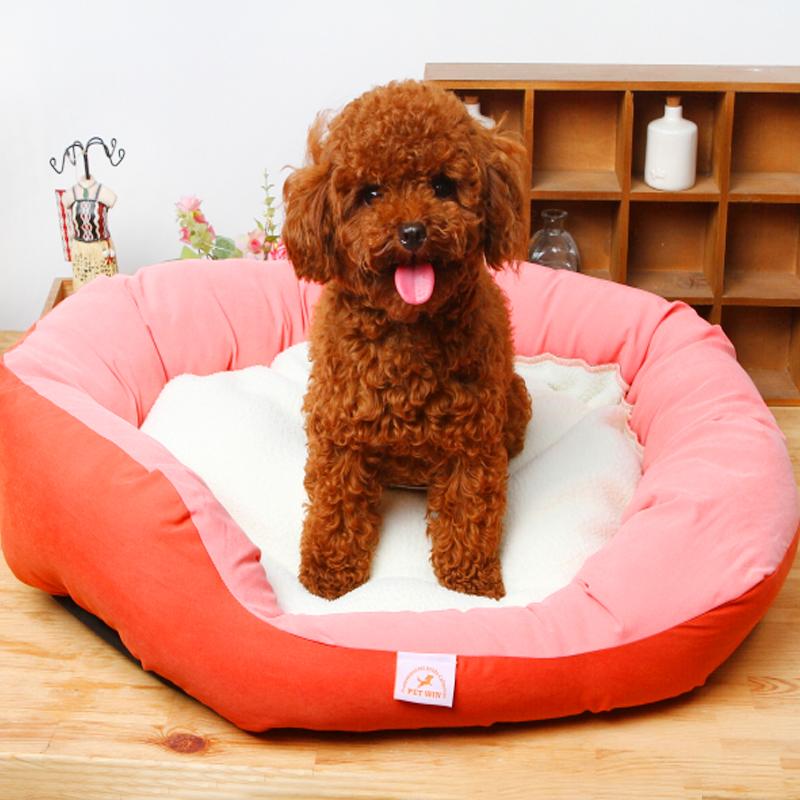 狗窝狗房子宠物窝猫窝狗床垫子泰迪比熊贵宾博美吉娃娃小型犬狗窝