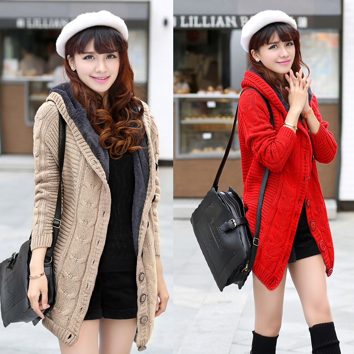 酒红色毛衣外套韩国_酒红色毛衣外套韩国_酒红色半身长裙_酒红色