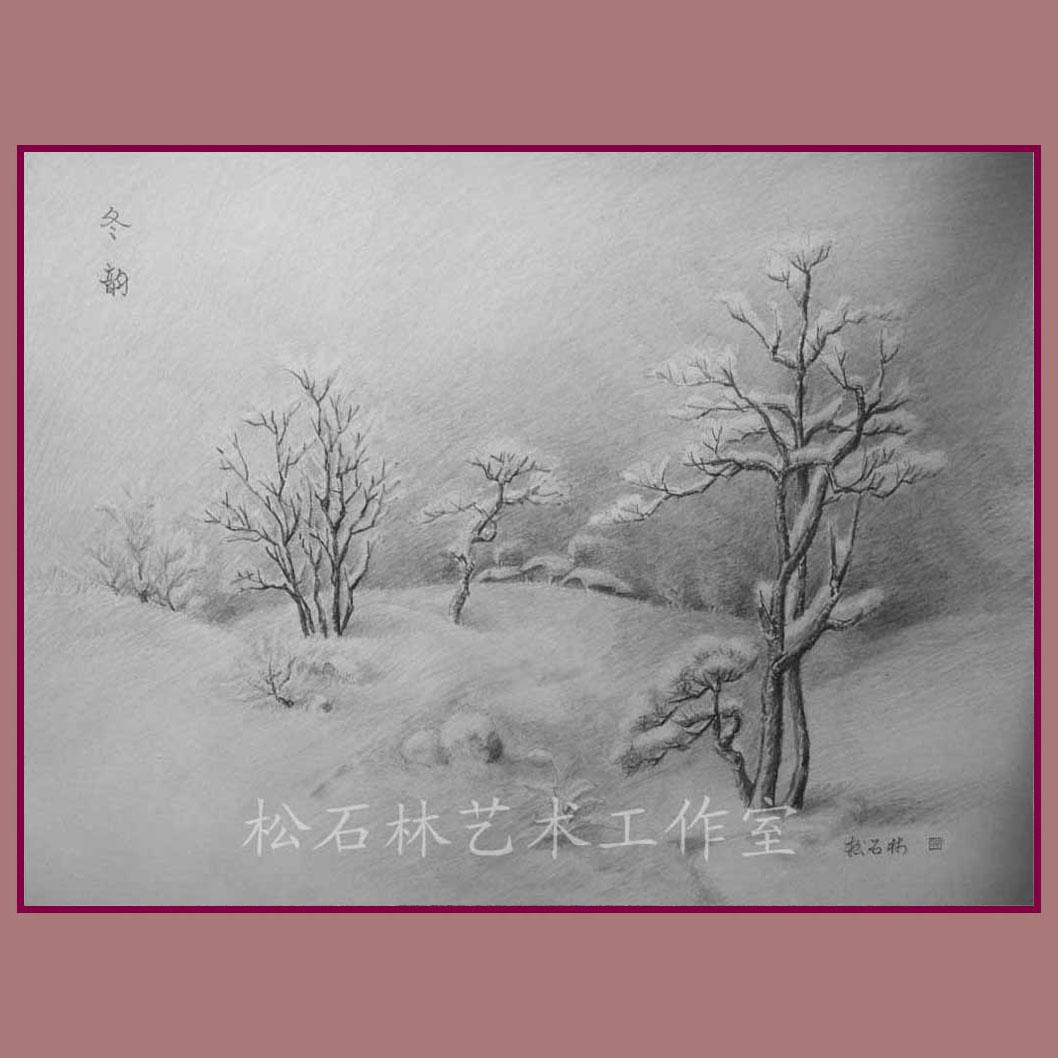 彩铅手绘风景画,简单的彩铅风景画,简单彩铅风景画 ...