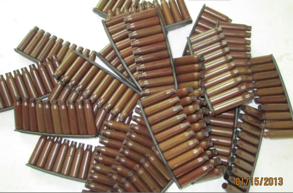 步枪弹壳工艺品图片_95弹壳 弹壳工艺品 弹桥一组