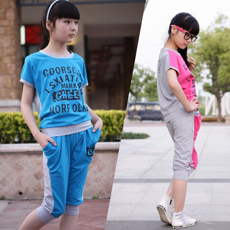 15岁女孩夏装套装