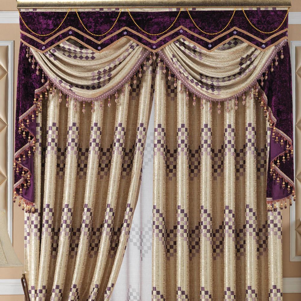 幔头款式_窗帘平幔款式_窗帘帘头款式图片_窗帘头 ...