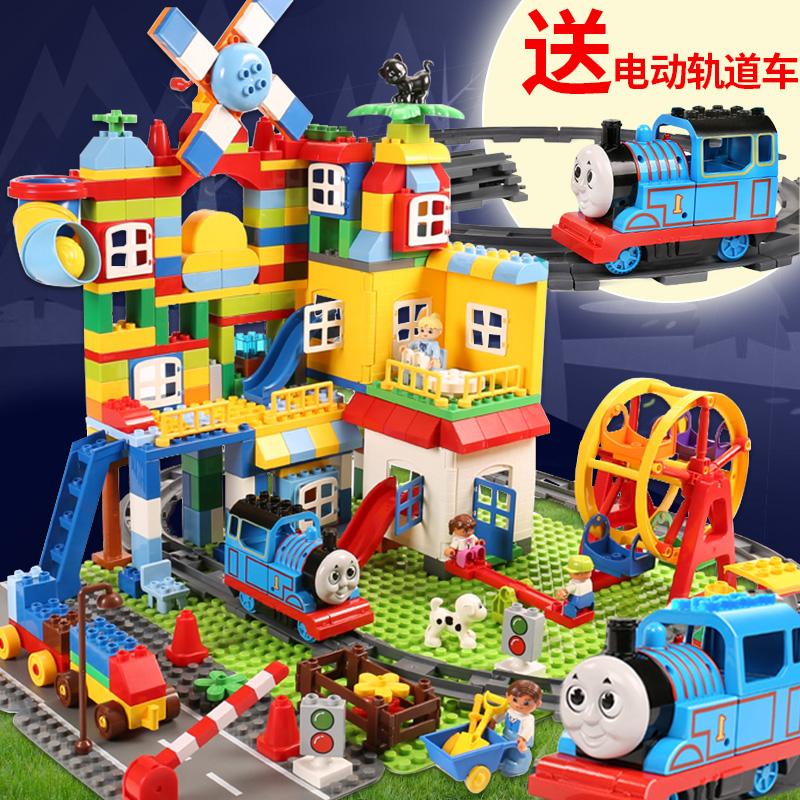 兼容乐高积木男孩子大颗粒儿童玩具宝宝拼装益智1-2-3-6周岁女孩